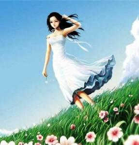 Наташка на ветру